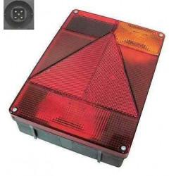 Feu droit RADEX vertical 6800 5 fonctions avec feu de recul