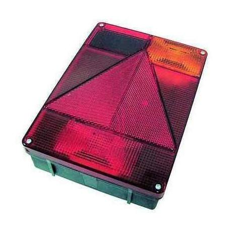 Cabochon de feu RADEX 6800 vertical droit 5 fonctions avec feu de recul