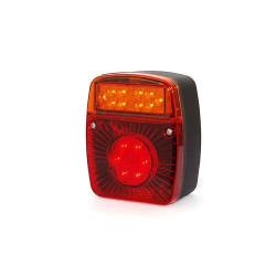 Feu arrière réversible à LED 3 fonctions pour remorque