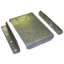 Support de patin grand modèle quadruple pour remorque