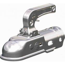Boîtier d'attelage pour tête freinée 2200kg diamètre 50mm
