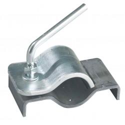 Collier à souder pour roue jockey diamètre 60mm