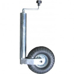 Roue jockey gonflable diamètre 60mm
