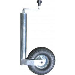 Roue jockey gonflable diamètre 60mm