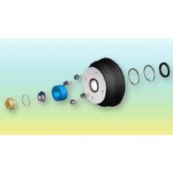 Kit tambour complet 4 trous 130 diamètre 200mm pour remorques PAM ROCCA et NAUTILUS