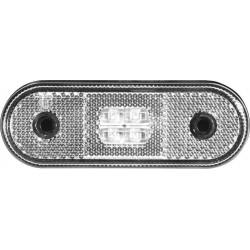 Feu de position blanc à LED 12/24V pour remorque