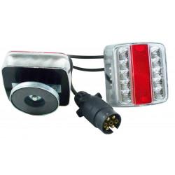 Kit éclairage remorque à LED 7.50m