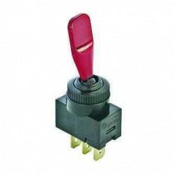 Interrupteur 12V lumineux rouge pour remorque