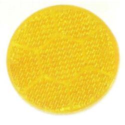 Catadioptre pour remorque autocollant orange