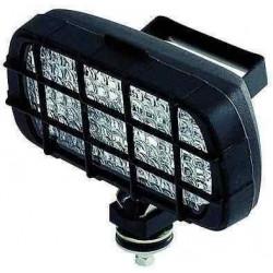 Projecteur rectangulaire fixe / orientable pour remorque