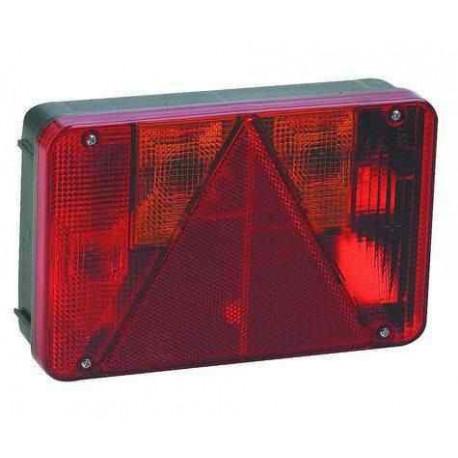 Feu RADEX 5800 droit 6 fonctions à câbler pour remorque