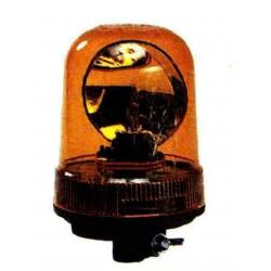 Gyrophare 12V H1 sur tige rigide
