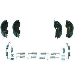 Kit mâchoires AL-KO 2360-2361 pour un essieu de remorque ou caravane