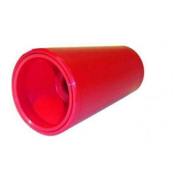 Cône plat rouge 130x78 Diam 19