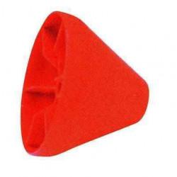 Cône rouge 180x55 diam 22