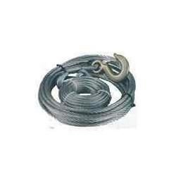 Câble de treuil GOLIATH+Crochet 10m Diam: 8