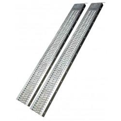 Paire de rampes galvanisées 1,92m Charge: 350Kg