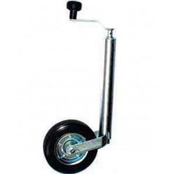 Roue jockey classique diamètre 48 mm pour remorque