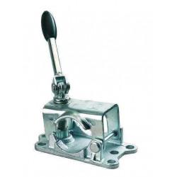 Collier poignée rabattable pour roue jockey diamètre 48mm