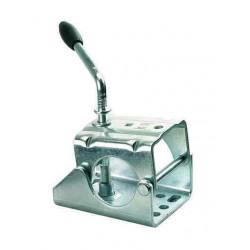 Collier poignée fixe pour roue jockey diamètre 60mm