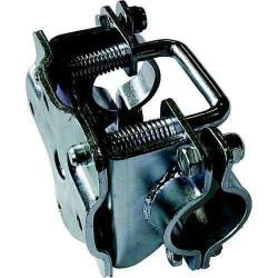 Collier basculant pour roue jockey diamètre 48mm