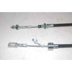 Lot de 2 Câbles de frein pour essieu GSM/GKN 650-1500Kg L:1480mm