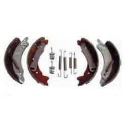 Kit mâchoires KNOTT type 16-1365 pour un essieu de remorque