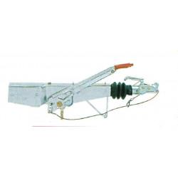 Tête d'attelage freinée AL-KO 161S fixation monopoutre section: 100 mm
