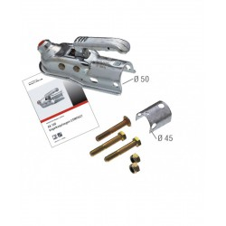 Boîtier d'attelage freiné AL-KO AK160 PTC: 1600Kg pour tube diamètre 50mm ou 45mm