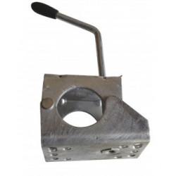 Collier à boulonner poignée allongée diamètre 60mm