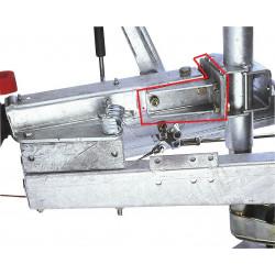 Support de fixation de roue jockey pour tête d'attelage ALKO 251S