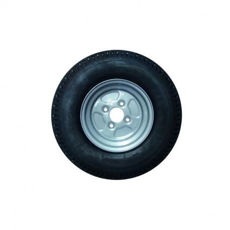 Roue complète 500x10 4 trous 100 mm