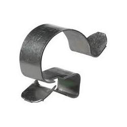 Fixation en acier pour câble électrique