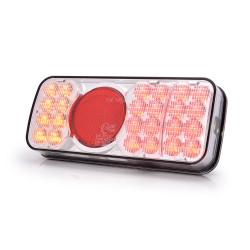 Feu arrière réversible à LED 5 fonctions pour remorque