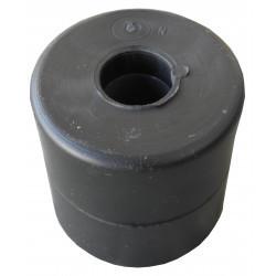 Bobine de treuil centrale noire 60 x 60 mm