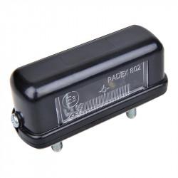 Éclaireur de plaque RADEX 802 82 x 30 x 32,5 mm