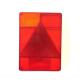 Cabochon gauche de feu RADEX 6800