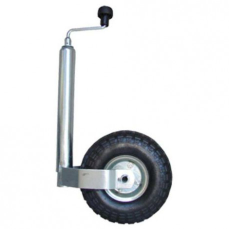 Roue jockey gonflable diamètre 48mm