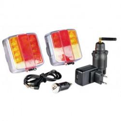 Kit d'éclairage magnétique sans fil 12 / 24 V