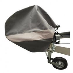 Housse de protection pour tête d'attelage freinée
