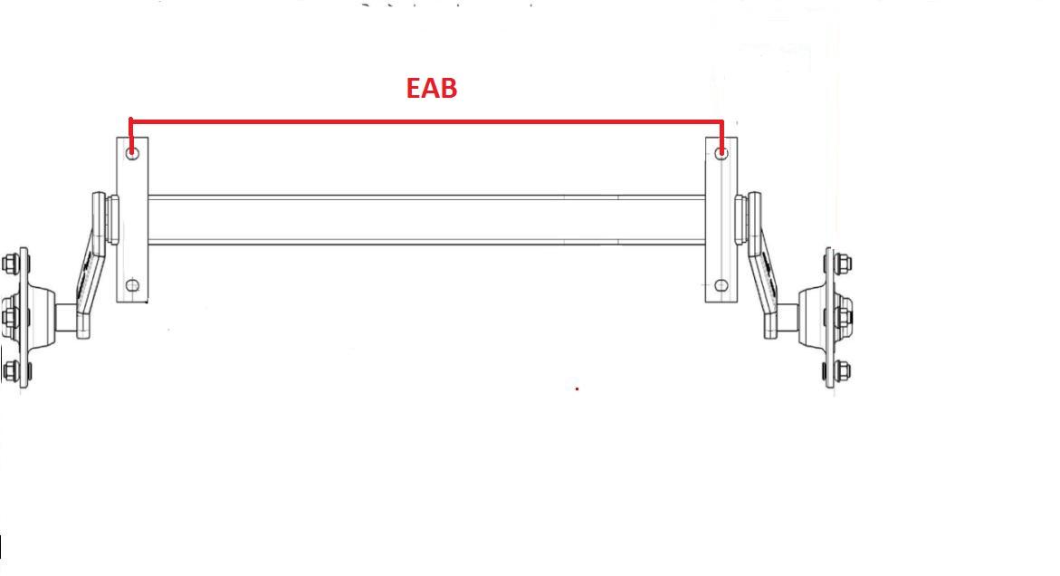 EAB essieu remorque non freiné